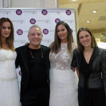 1 José María Peiró y Silvia Melero con las modelos