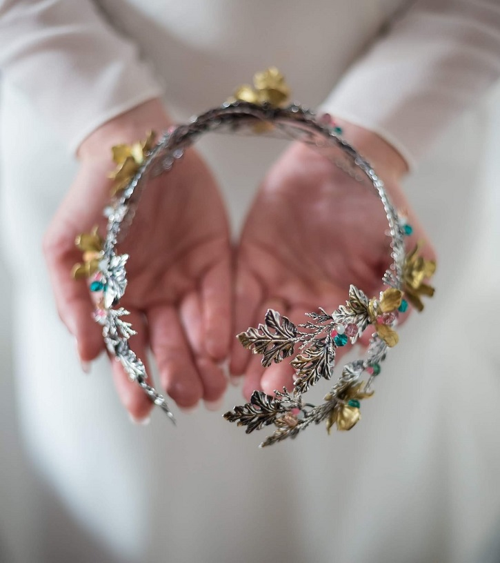 complementos trajes novia